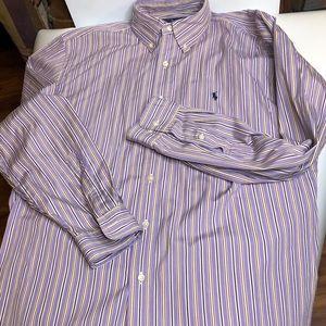 Ralph Lauren Classic Fit Men Sz M 16.5 34/35 Shirt